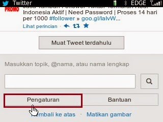 username twitter 1