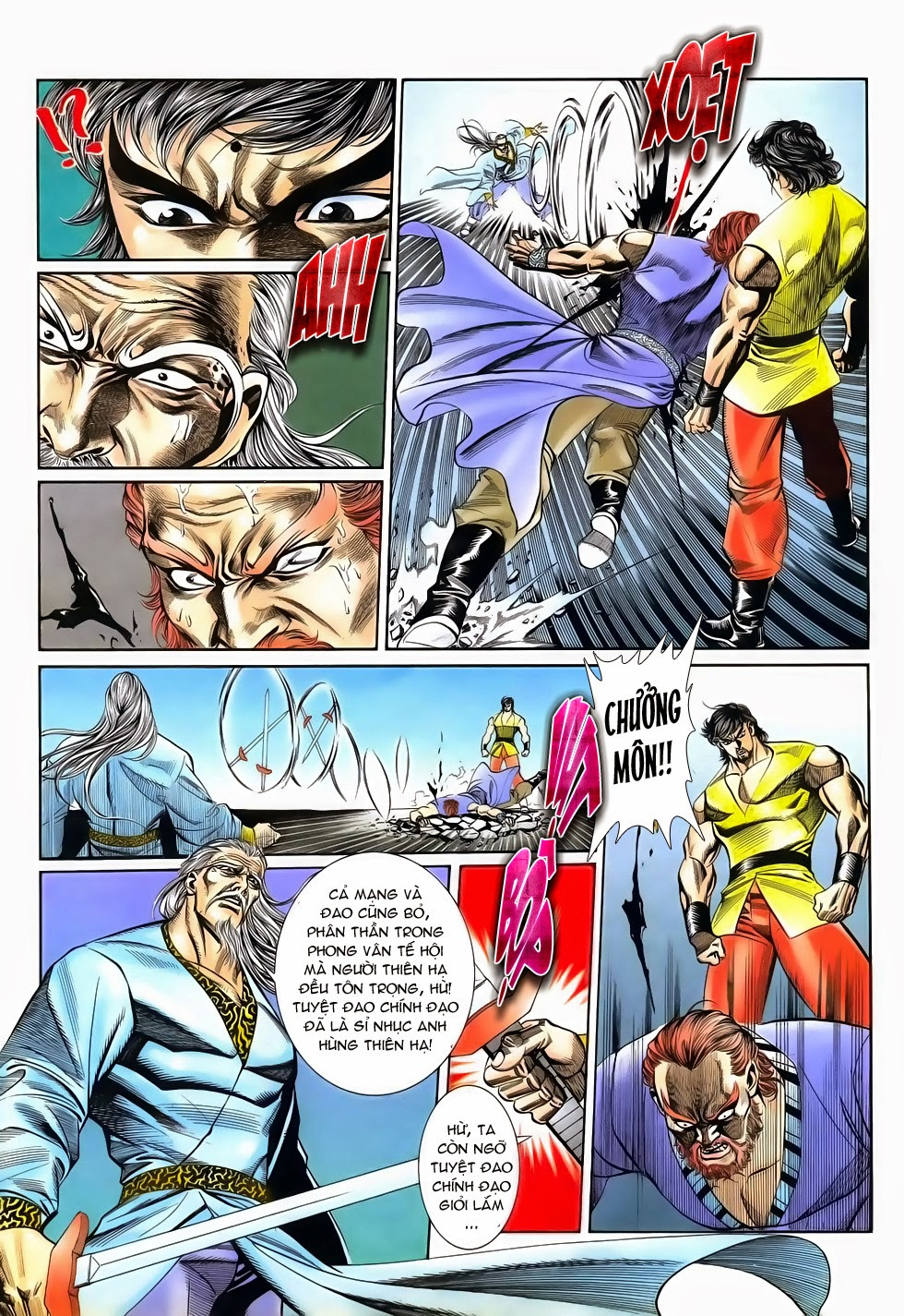 Long Hổ Phong Bạo chap 4 - Trang 19