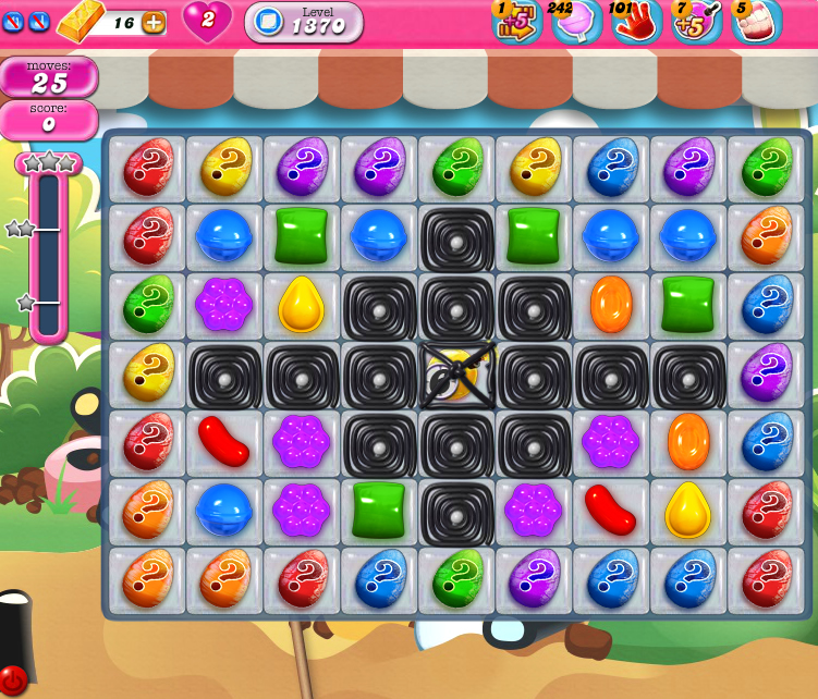 Candy Crush Saga 1370