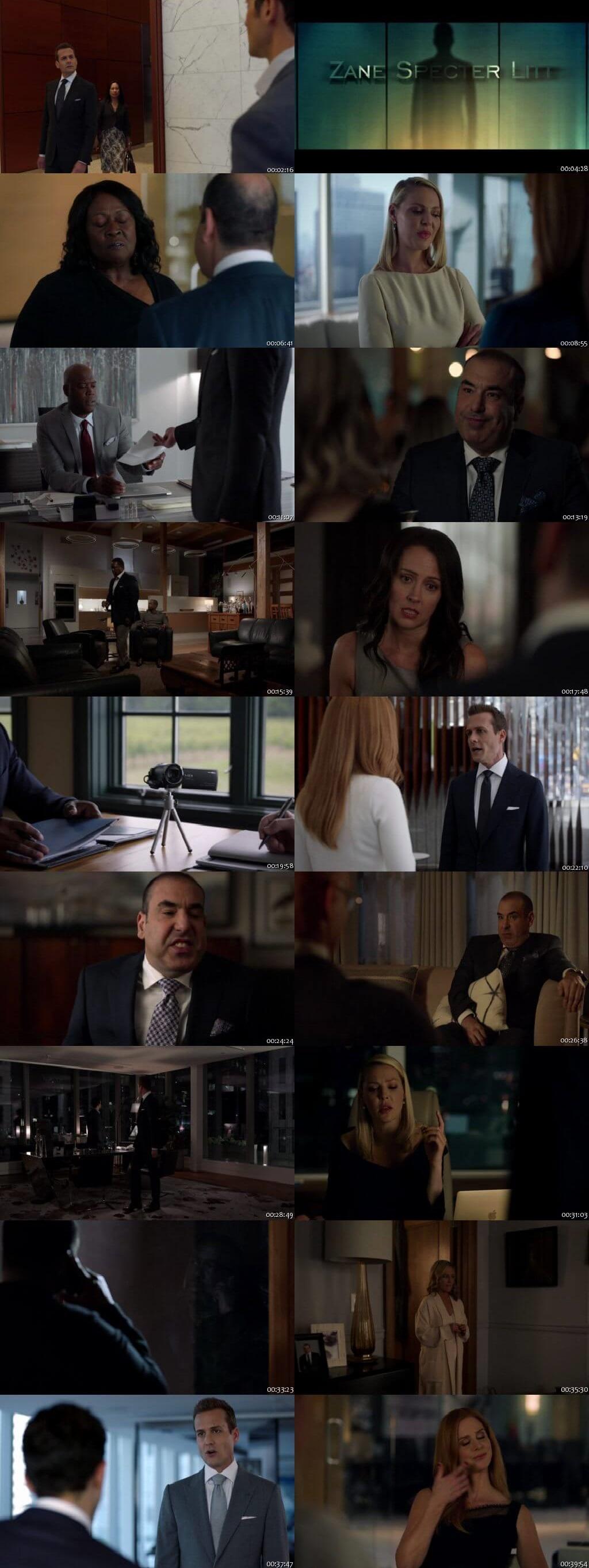 Screenshots Of English Show Suits Season 08 Episode 07 2018 WEB-DL 720P 300MB