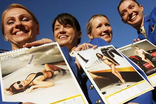 The girls of Ryanair Calendar 2008