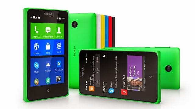 Spesifikasi dan Harga Nokia X Terbaru Juli - Agustus 2014