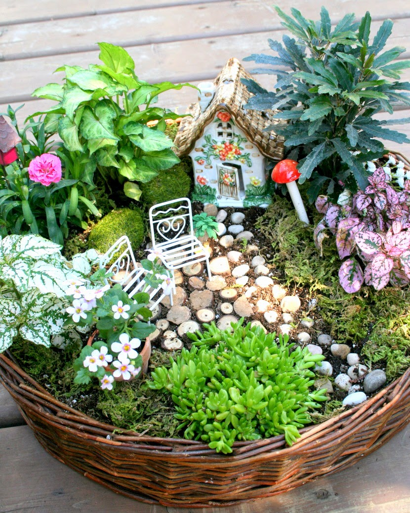 how to make a fairy garden 4 other fabulous outdoor