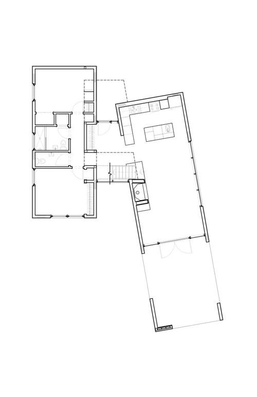 Hill Maheux Cottage floor plan