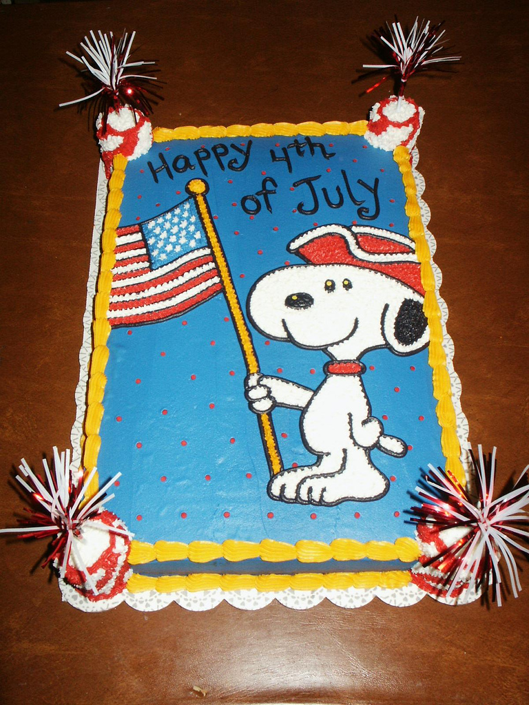 4th of july cake designs