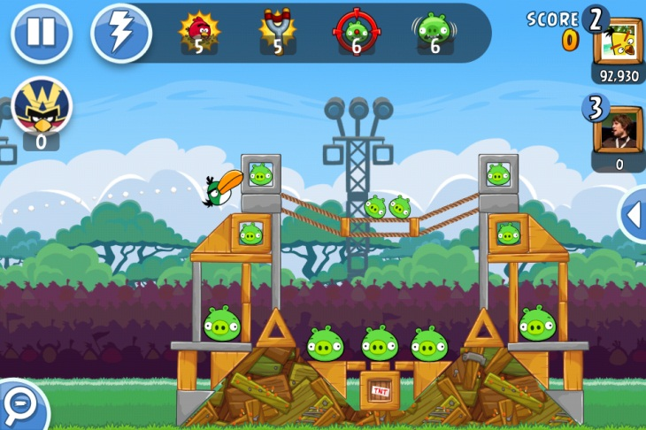 Angry Birds Friends Browser game PC