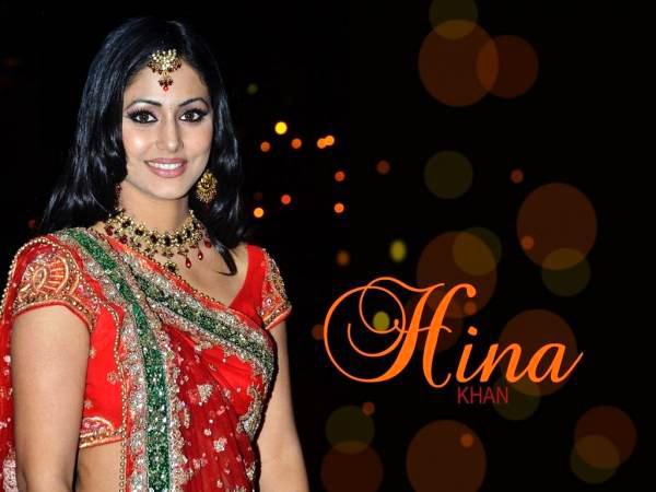 Hina Khan HD Wallpaper