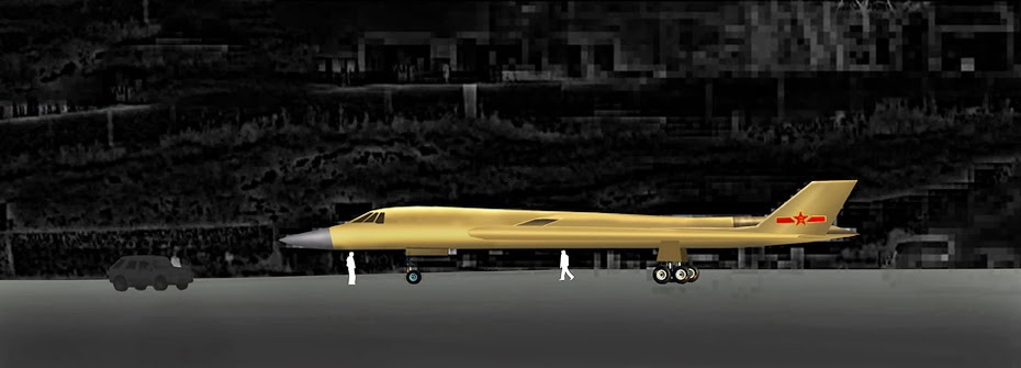 Chinese Stealth Bomber H-8