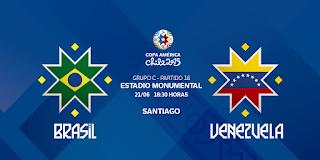 Brasil vs Venezuela en vivo | Domingo 21 junio del 2015 | Copa América Online