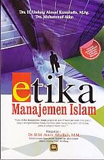 toko buku rahma: buku  ETIKA MANAJEMEN ISLAM, pengarang undang ahmad kamaludin, penerbit pustaka setia