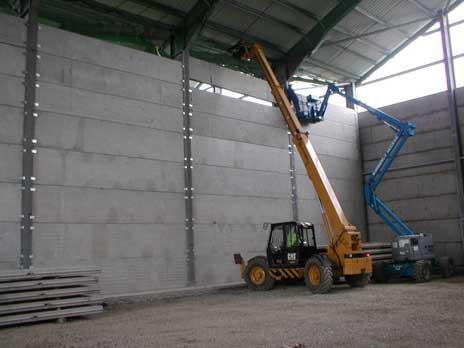 how to build amatek unibank retaining wall