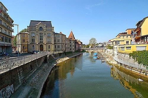 Cidades e lugares cidade de yverdon su a for Piscine yverdon