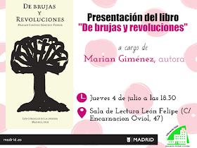 """Presentación del libro: De brujas y revoluciones"""""""