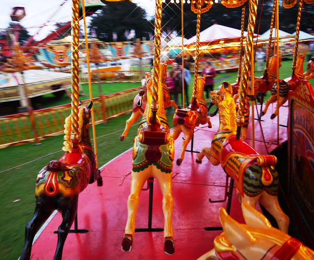 Gallopers at Carters Steam Fair