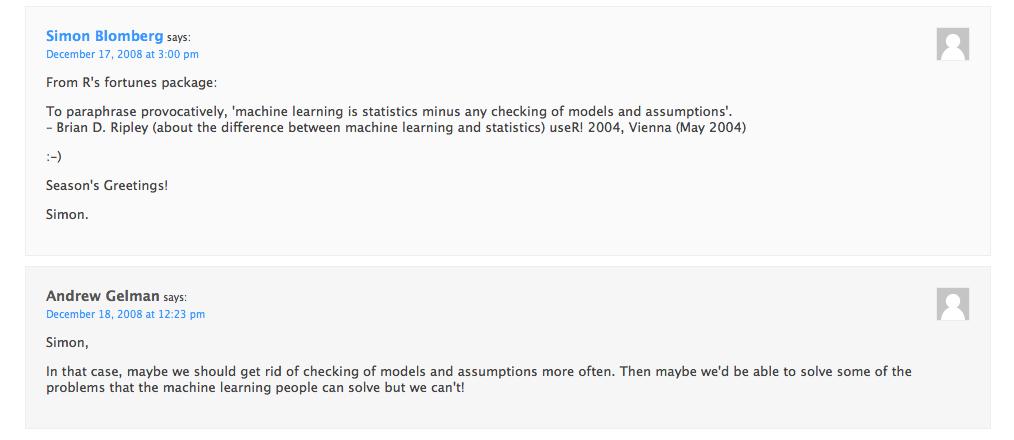 Statistical Modeling vs Machine Learning