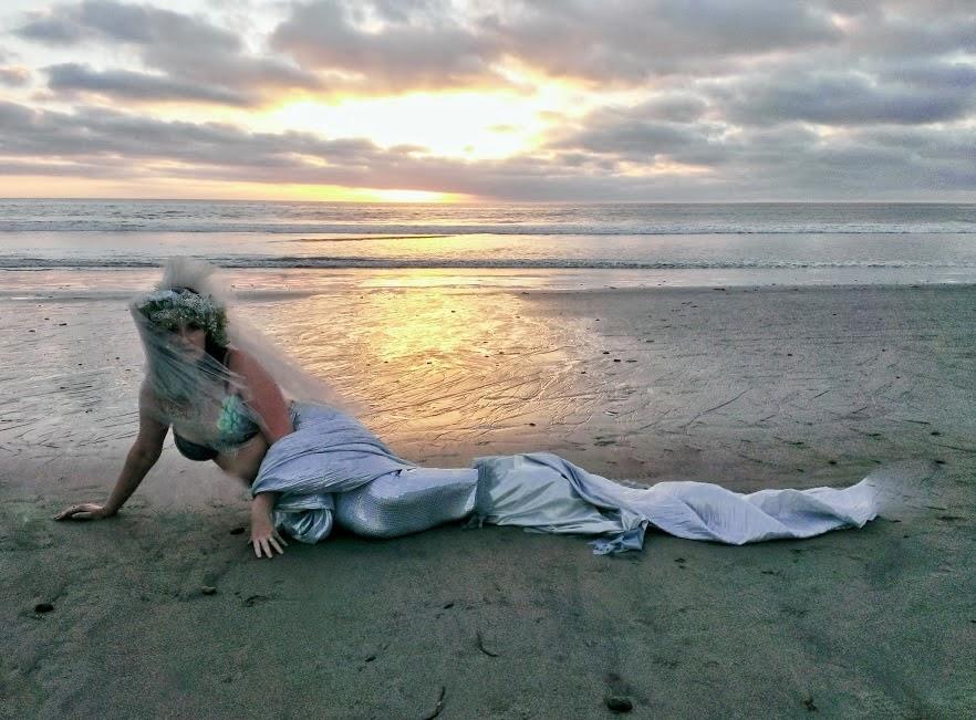 mermaid shelly as a sea bride