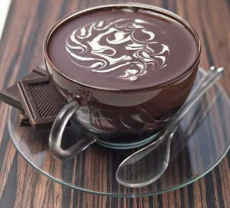 طريقة عمل المهلبية بالشوكولاتة