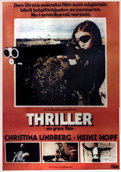 Thriller A Cruel Picture poster
