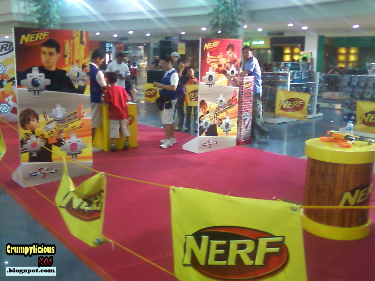 Games to Play with Nerf http://pointblankplay.blogspot.com/2011/06/nerf-games-and-contest-toys-r-us-event.html