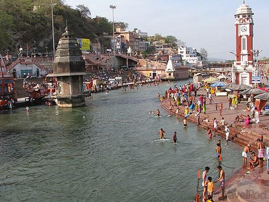 Ghat of Haridwar