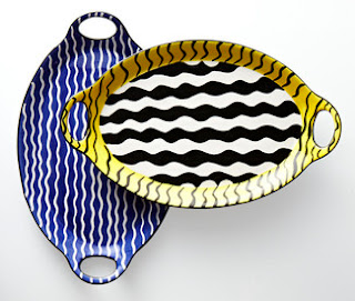 Duro Olowu jcpenney collabo - Wave platter - iloveankara.blogspot.co.uk