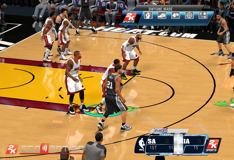 Next-Gen NBA 2K14 PC HUD