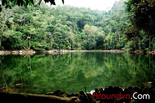 Ba Be Lake - the ecotourism area