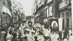 Entrada triunfal de Jesús Niño - 1915