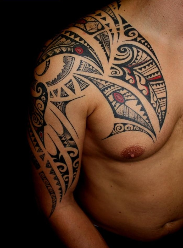 tattoos maori tattoo design idea photos images pictures. Black Bedroom Furniture Sets. Home Design Ideas