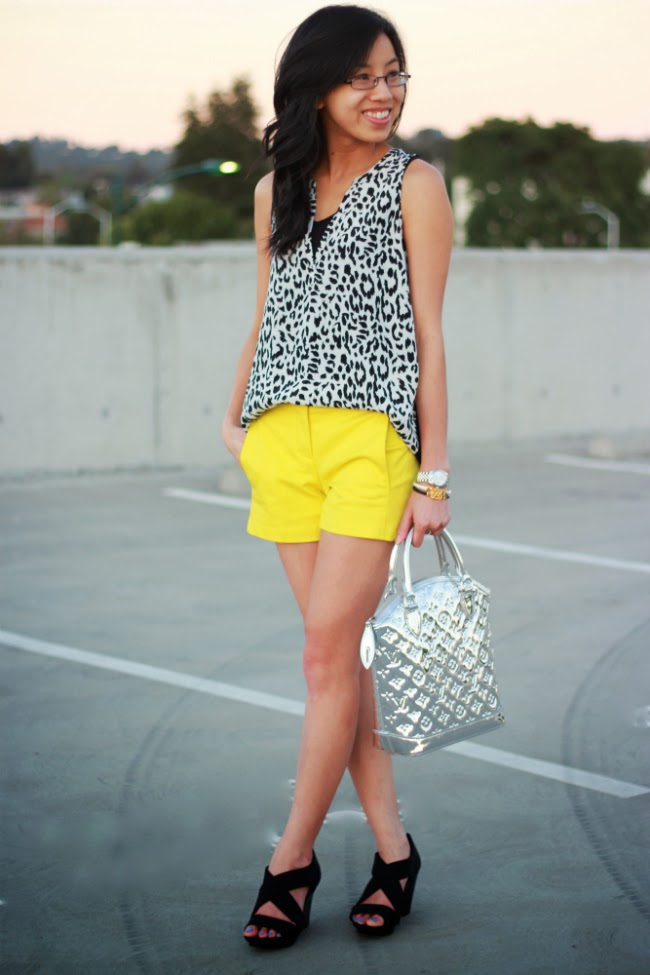 animal print summer 2013 trend item idea casual