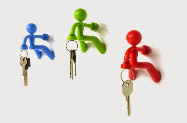 gantungan kunci magnet key pete