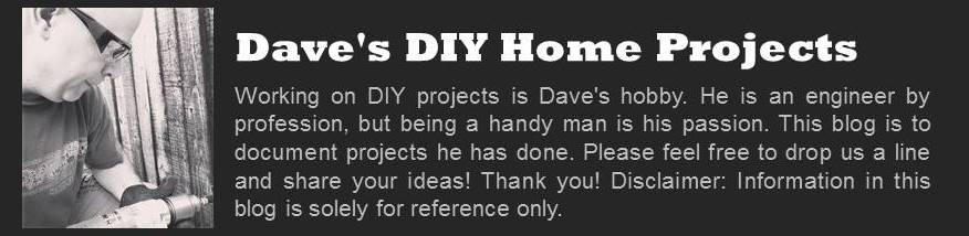Dave's DIY Home Projects