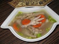 resep masakan soup ceker ayam