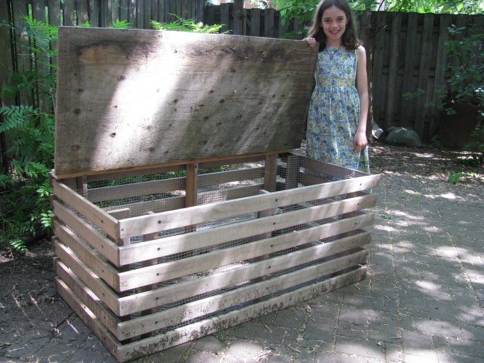 porte en bois de jardin