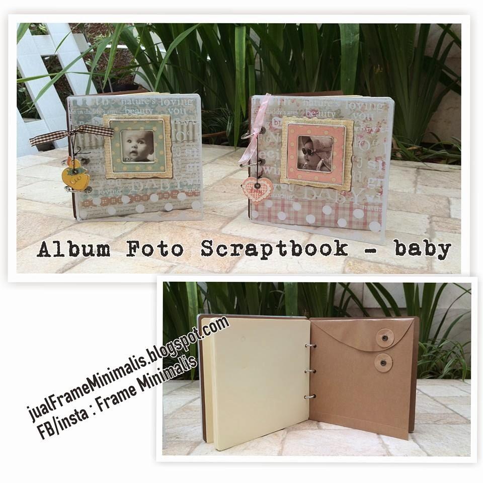 Album Foto Scraptbook Baby Serries