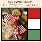 Paper Sweeties December Inspiration Challenge #24