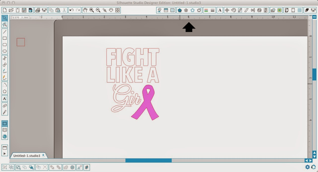 Layering Vinyl Two Tone Offset Vinyl Decal Or Design Tutorial - Decal graphics software