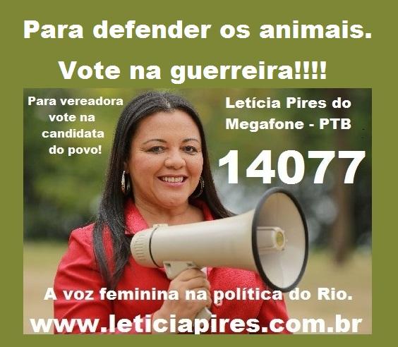 Defender os animais.