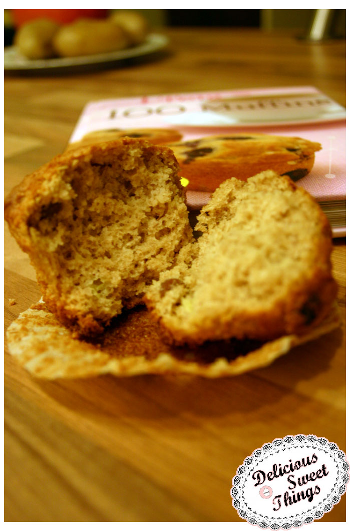 bananen vollkorn muffins delicioussweetthings. Black Bedroom Furniture Sets. Home Design Ideas