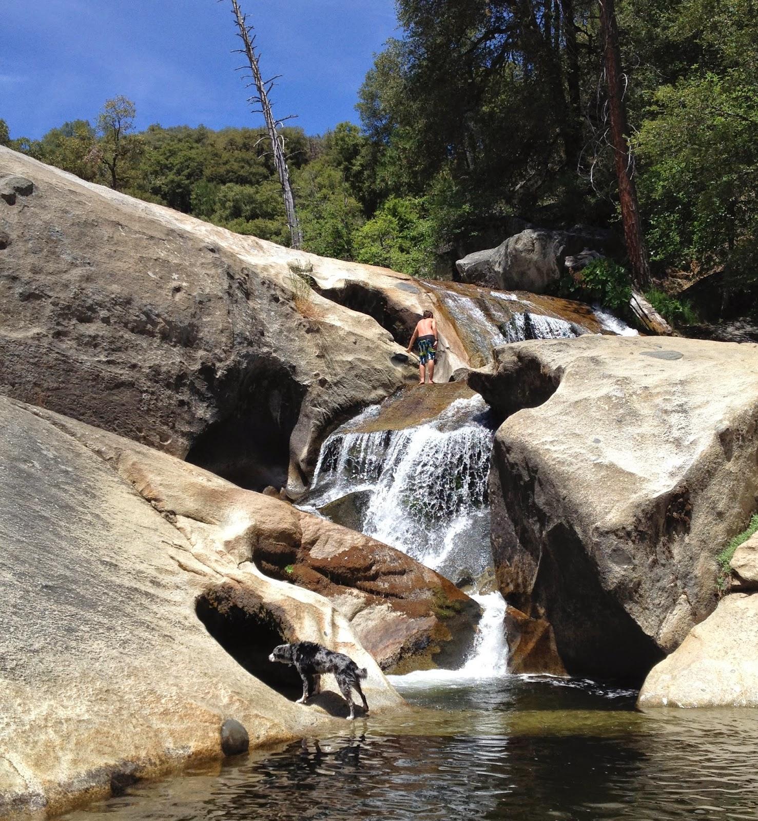 Angel Falls On Willow Creek Oakhurst California