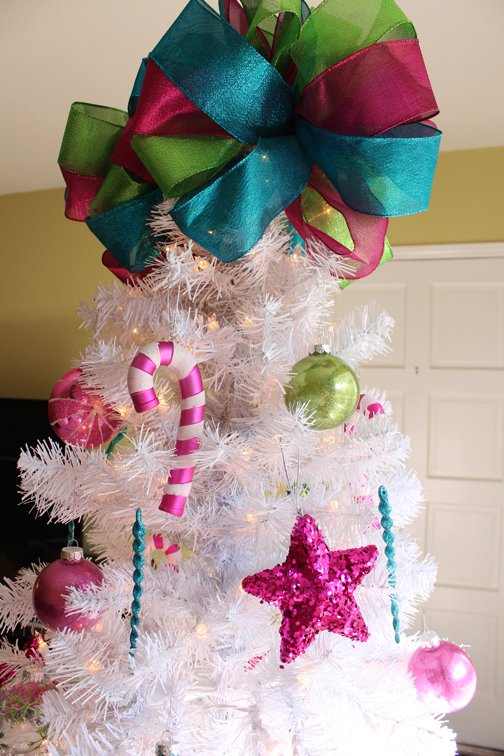 Bow Tree Topper by Jessica Marie Design