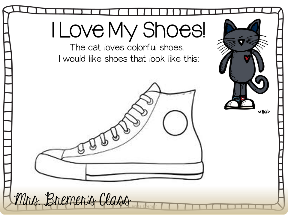 Mrs bremer 39 s class pete the cat for Pete the cat coloring page