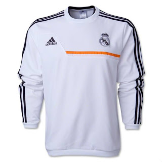 Sweater Training Grade Ori Real Madrid 2013-2014