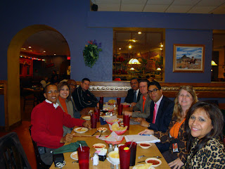 State and federal prison officials meet with the Dominican Republic leaders over lunch.