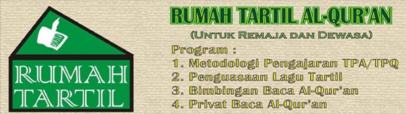 RUMAH TARTIL AL-QUR'AN