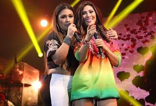 Simone e Simaria convidam Ivete para participar de novo DVD