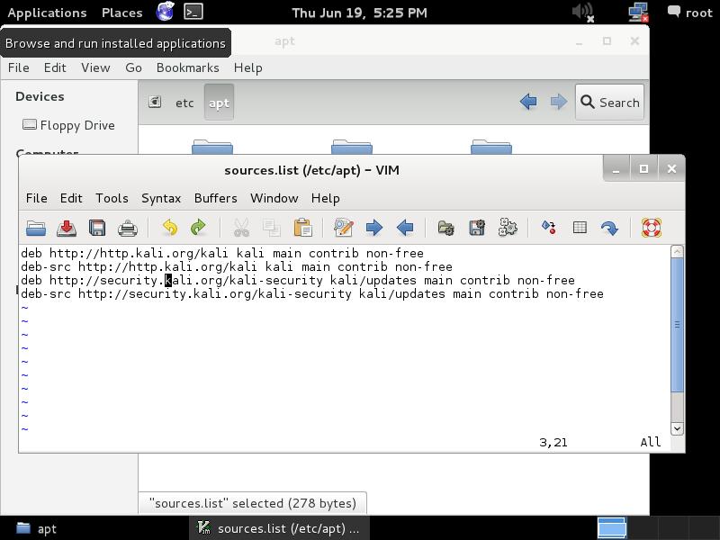 Add Repository Kali Linux