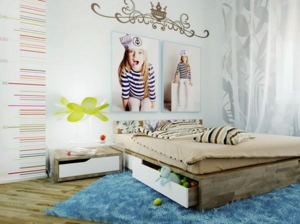 ... : Décoration murale de chambre denfant créative et originale