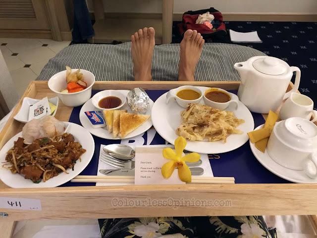 breakfast in bed royale bintang hotel penang