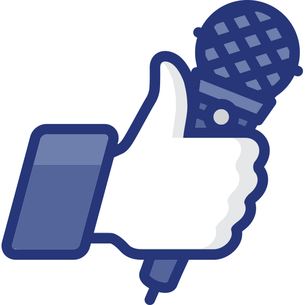 Microphone Facebook Icon